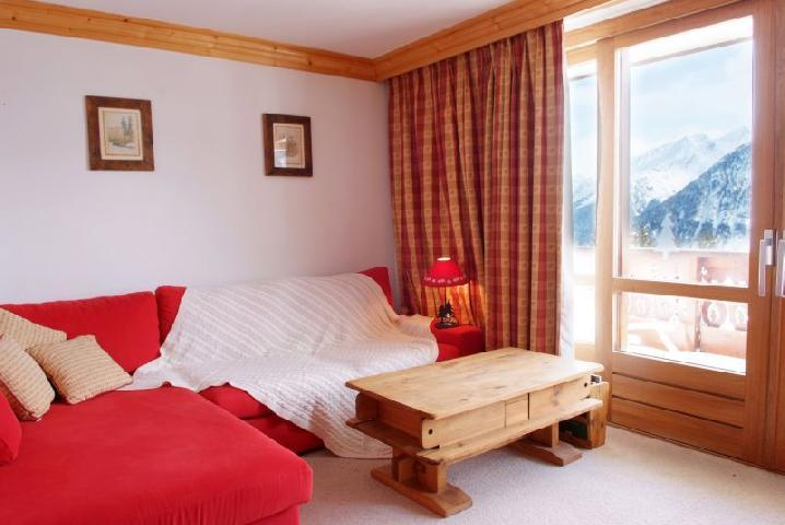 Location au ski Appartement 2 pièces cabine 6 personnes (77) - Residence Le Soleil Levant - Courchevel - Séjour
