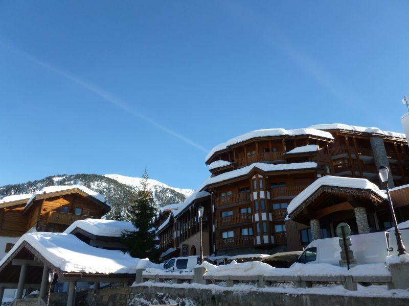 Location au ski Appartement 2 pièces mezzanine 4 personnes (501) - Residence Les Cimes Blanches - Courchevel - Extérieur hiver