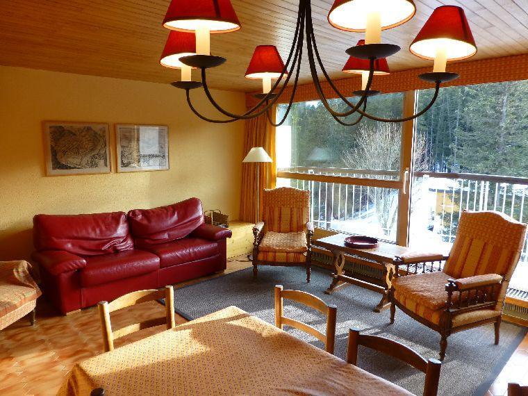 Location au ski Appartement 3 pièces 4 personnes (13) - Residence Roc Sabal - Courchevel - Canapé-lit