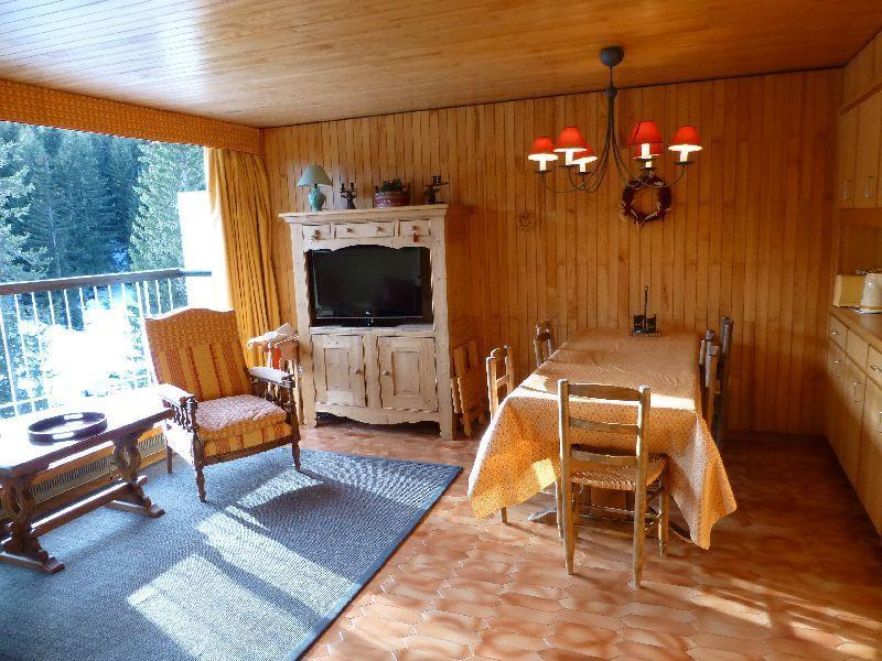Location au ski Appartement 3 pièces 4 personnes (13) - Residence Roc Sabal - Courchevel - Séjour