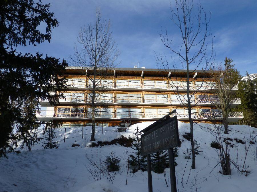Location au ski Appartement 3 pièces 4 personnes (13) - Residence Roc Sabal - Courchevel - Extérieur hiver