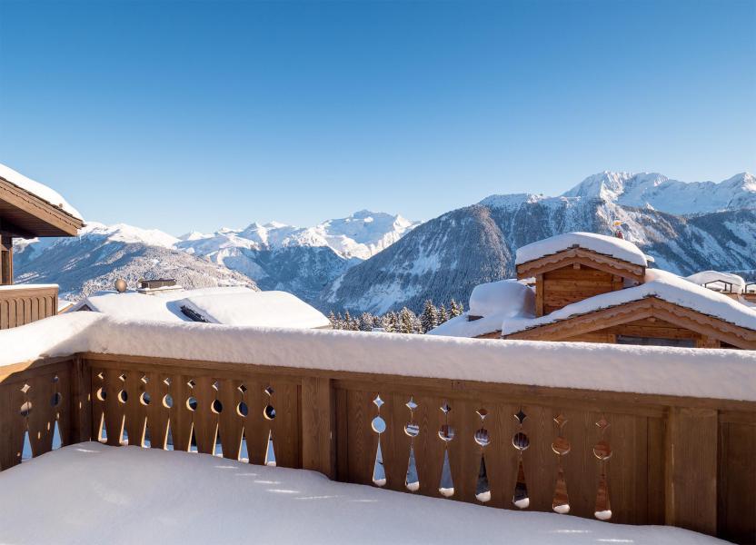 Ski verhuur Chalet Dharkoum Lama - Courchevel - Buiten winter