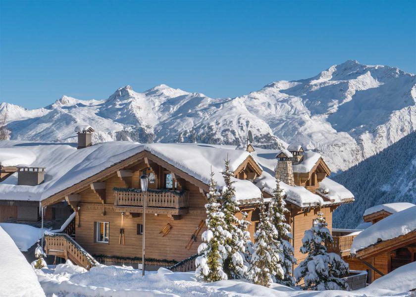Ski verhuur Chalet Dharkoum Makan - Courchevel - Buiten winter