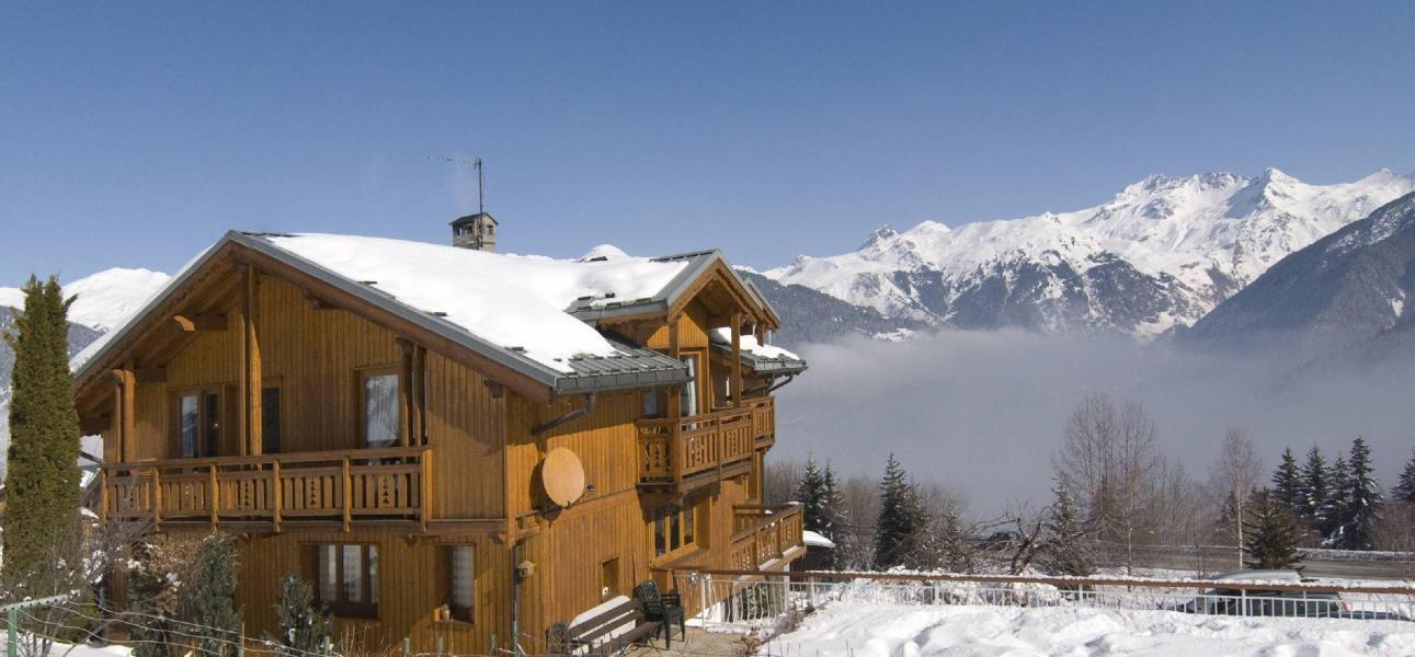 Location au ski Chalet Diana - Courchevel - Extérieur hiver