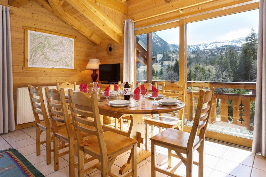 Location au ski Chalet Diana - Courchevel - Coin repas