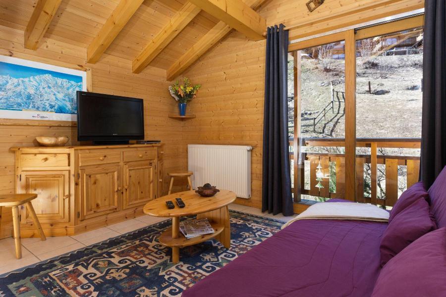 Location au ski Chalet Diana - Courchevel - Séjour