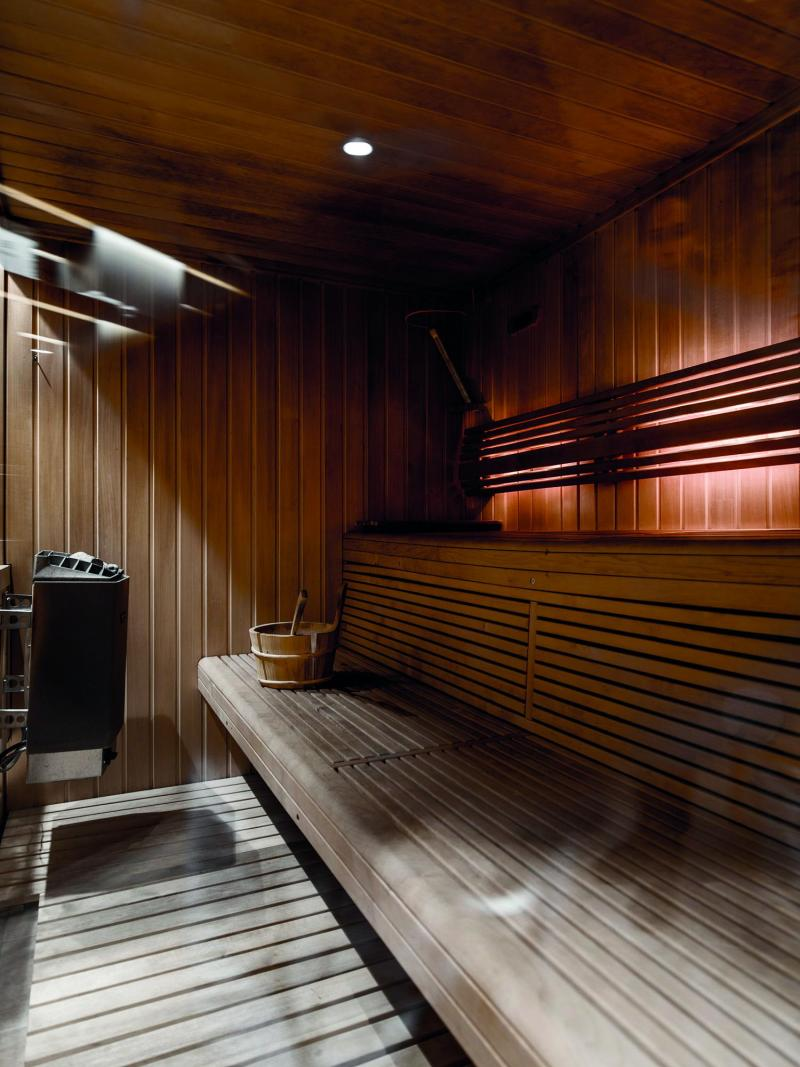 Location au ski Hotel Des 3 Vallees - Courchevel - Sauna