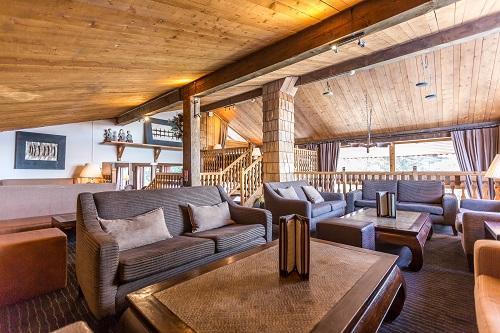 Location au ski Hôtel le New Solarium - Courchevel - Intérieur