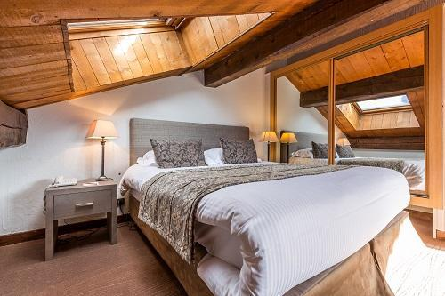 Location au ski Hotel Le New Solarium - Courchevel - Chambre