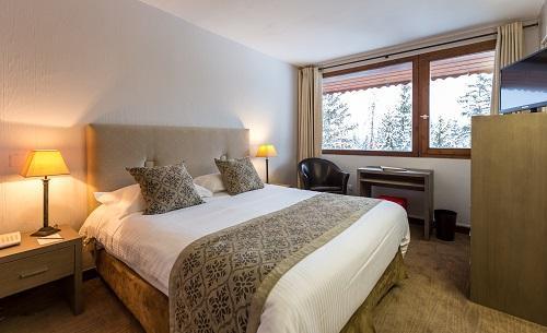 Soggiorno sugli sci Hôtel le New Solarium - Courchevel - Letto matrimoniale