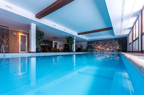 Location au ski Hôtel le New Solarium - Courchevel - Piscine