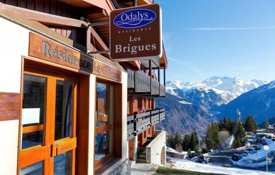 Vacances en montagne Résidence des Brigues - Courchevel - Extérieur hiver