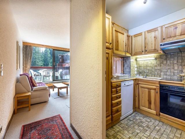 Location au ski Appartement 2 pièces 4 personnes (101B T) - Residence Domaine Du Jardin Alpin - Courchevel