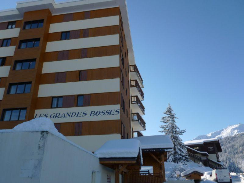 Location au ski Residence Grande Bosse - Courchevel - Extérieur hiver