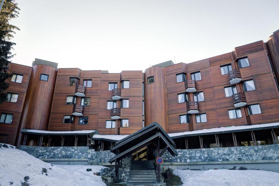 Аренда на лыжном курорте Résidence Jardin Alpin - Courchevel - зимой под открытым небом