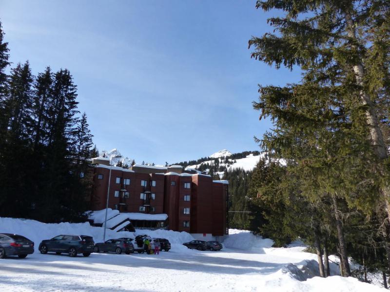 Location au ski Résidence Jardin Alpin - Courchevel - Extérieur hiver