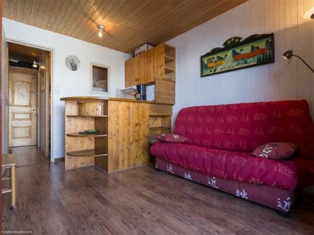 Ski verhuur Studio cabine 4 personen (22) - Résidence le Plein Est - Courchevel - Zitbank