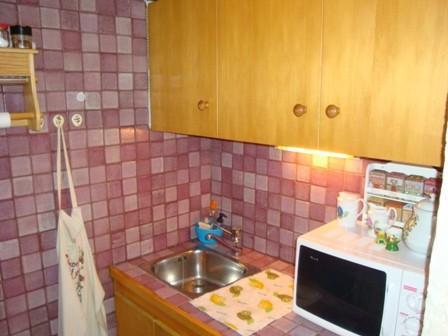 Location au ski Appartement 2 pièces 4 personnes (7) - Residence Melezes - Courchevel - Kitchenette