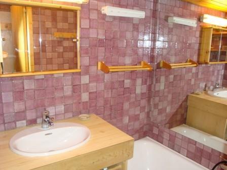 Location au ski Appartement 2 pièces 4 personnes (7) - Résidence Mélèzes - Courchevel - Salle de bains