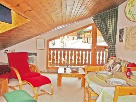 Location au ski Appartement 2 pièces 4 personnes (7) - Residence Melezes - Courchevel - Table