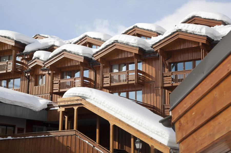 Holiday in mountain resort Résidence P&V Premium les Chalets du Forum - Courchevel - Winter outside
