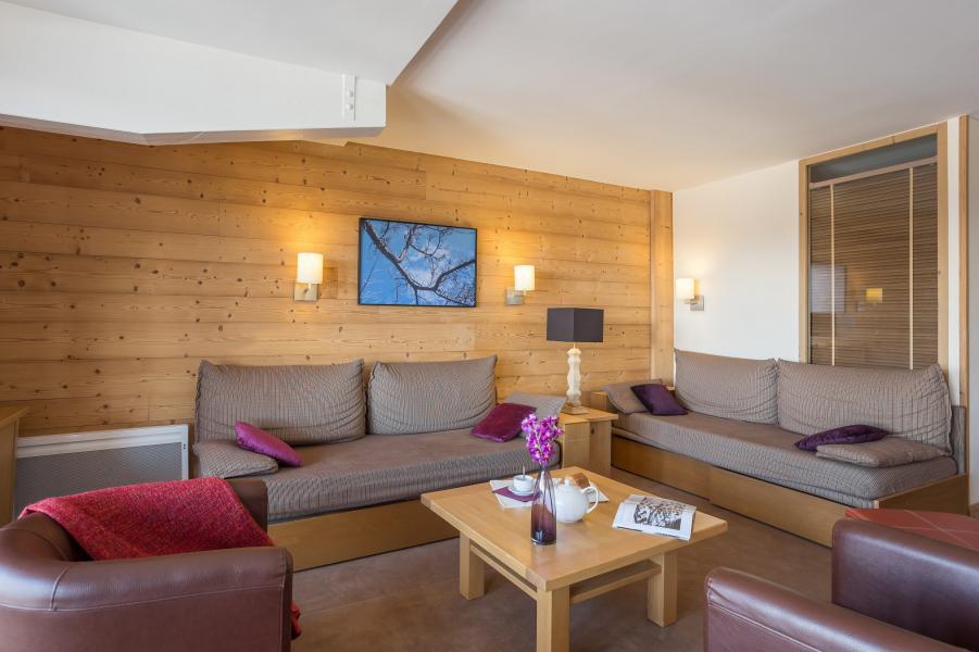 Location au ski Résidence P&V Premium les Chalets du Forum - Courchevel - Coin séjour
