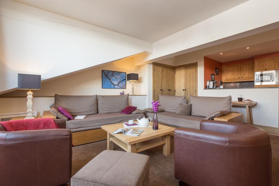 Alquiler al esquí Résidence P&V Premium les Chalets du Forum - Courchevel - Sofá