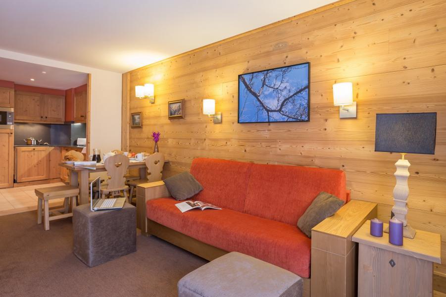 Ski verhuur Résidence P&V Premium les Chalets du Forum - Courchevel - Sofa