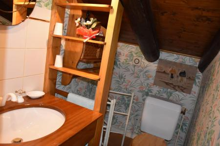 Rent in ski resort 5 room mezzanine chalet 8 people (BORNOUA) - Chalet de Bornoua - Courchevel - Wash-hand basin