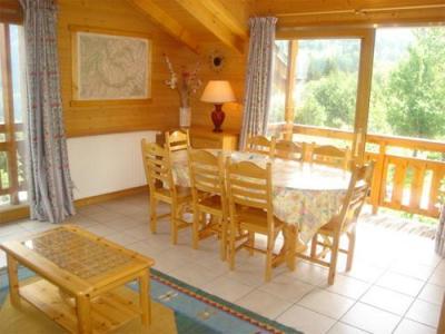 Location au ski Chalet mitoyen 5 pièces 8-10 personnes - Chalet Diana - Courchevel - Coin repas