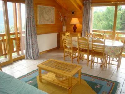 Location au ski Chalet mitoyen 5 pièces 8-10 personnes - Chalet Diana - Courchevel - Séjour