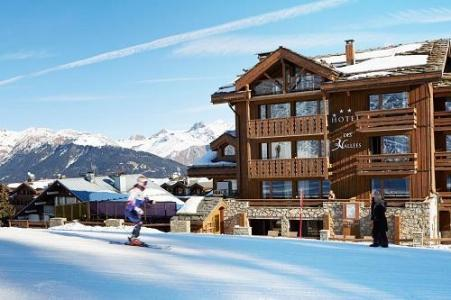Location Courchevel : Hotel Des 3 Vallees hiver