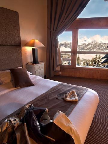 Location au ski Chambre Triple (3 personnes) - Hotel Le New Solarium - Courchevel - Chambre
