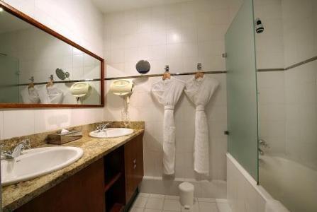 Location au ski Hotel Le New Solarium - Courchevel - Salle de bains
