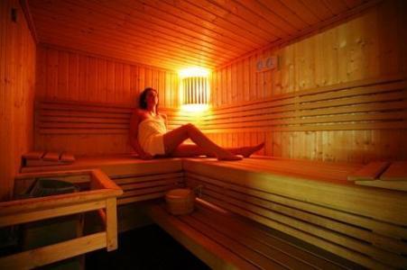 Location au ski Hotel Le New Solarium - Courchevel - Sauna