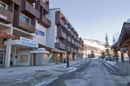 Location au ski Hotel Olympic - Courchevel - Extérieur hiver