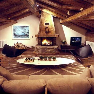 Location au ski Chalet 5 pièces 8 personnes - La Maison Du Praz - Courchevel