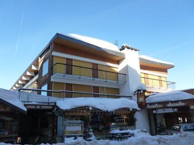 Location au ski Residence Croix Des Verdons - Courchevel - Extérieur hiver