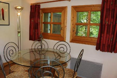 Location au ski Appartement 3 pièces 6 personnes (14) - Residence Jean Blanc - Courchevel - Table