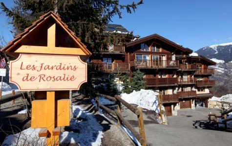 Location au ski Chalet 9 pièces mezzanine 14 personnes (1) - Residence Les Jardins De Rosalie - Courchevel - Extérieur hiver