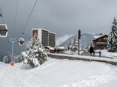 Location au ski Résidence Maeva les Ecrins - Courchevel - Extérieur hiver