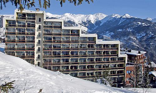 Location au ski Residence Maeva Les Grangettes - Courchevel - Extérieur hiver