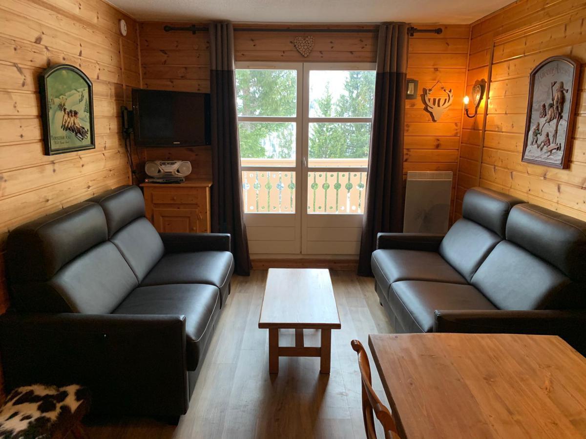 Location au ski Appartement duplex 3 pièces cabine 8 personnes (C1) - Chalet De L'arbaron - Flaine - Séjour