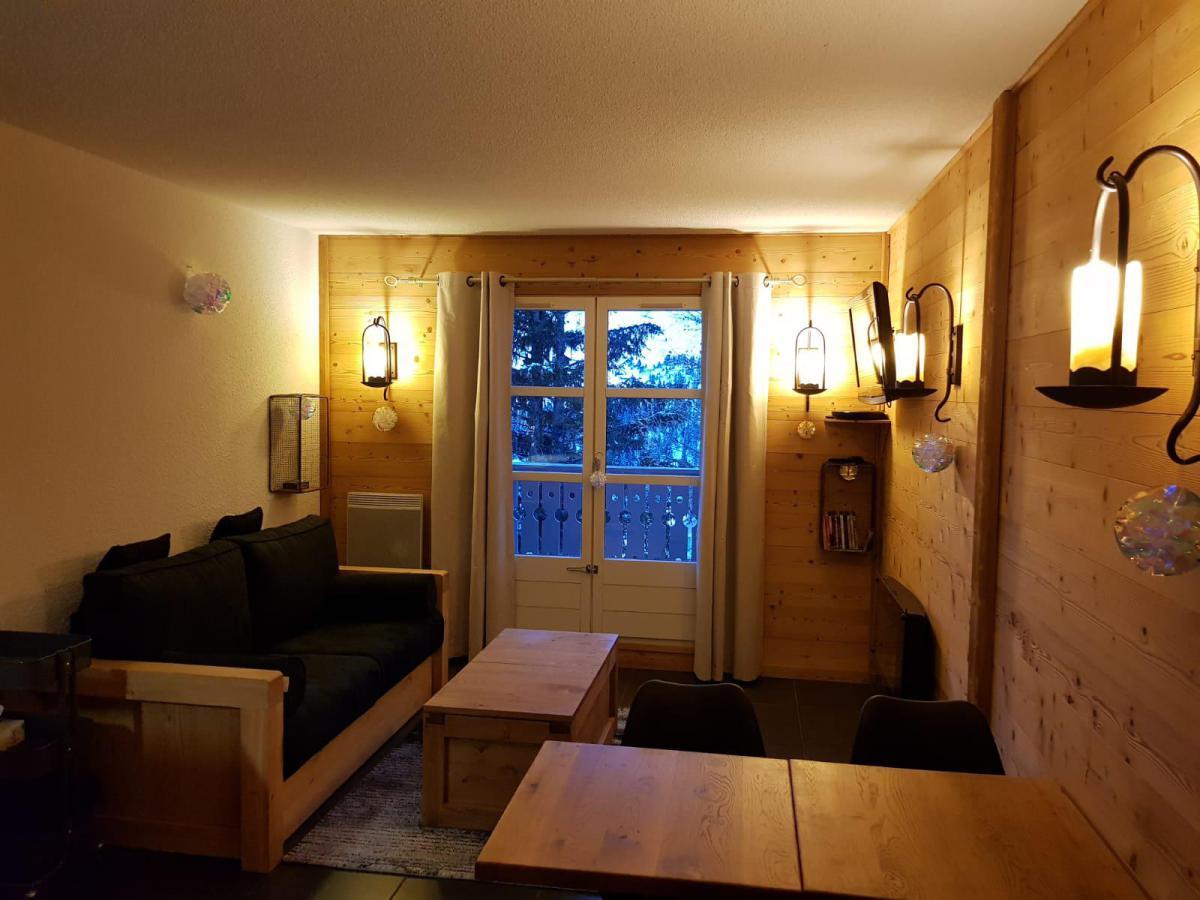 Location au ski Studio coin montagne 4 personnes (C1) - Chalet De L'arbaron - Flaine - Séjour