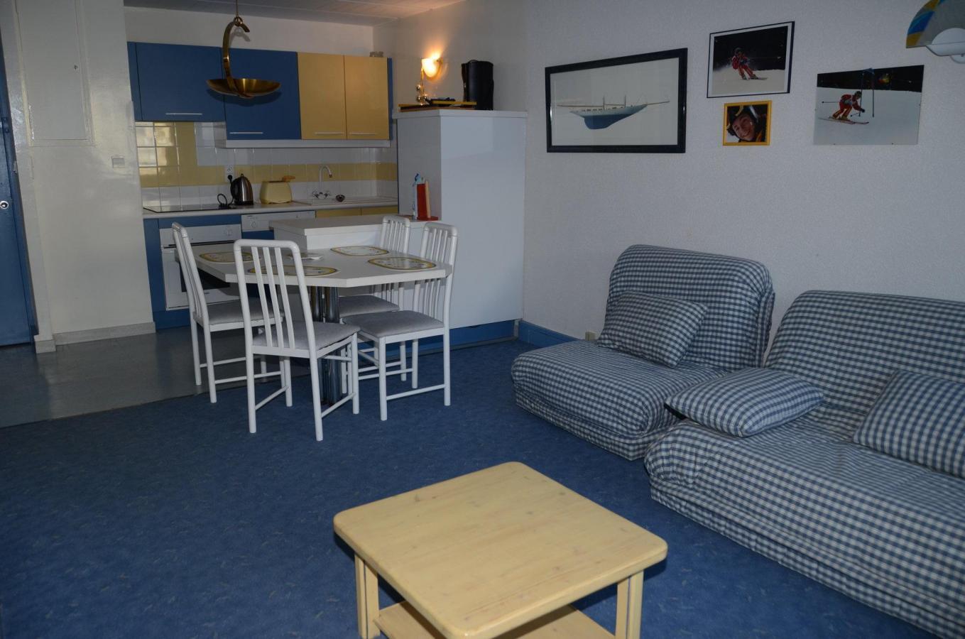 Location au ski Appartement 2 pièces 6 personnes (4) - La Residence Betelgeuse - Flaine - Coin séjour