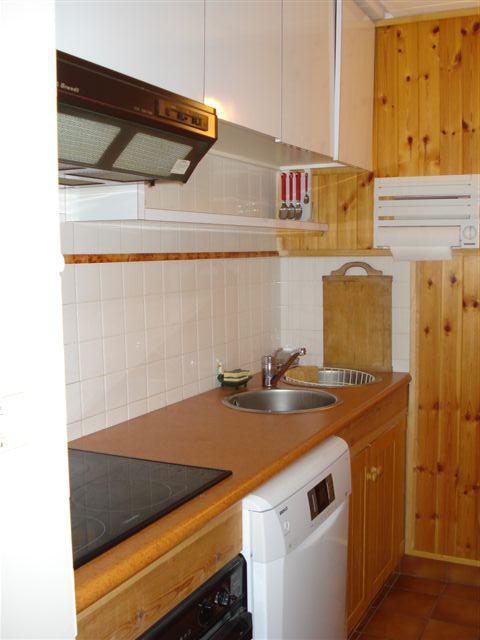 Location au ski Appartement 2 pièces 6 personnes (5) - La Residence Betelgeuse - Flaine - Kitchenette