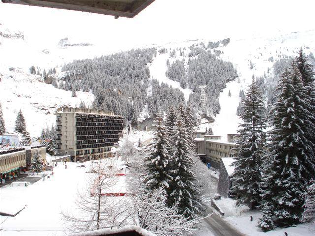Location au ski Appartement 2 pièces 6 personnes (4) - La Residence Betelgeuse - Flaine - Extérieur hiver
