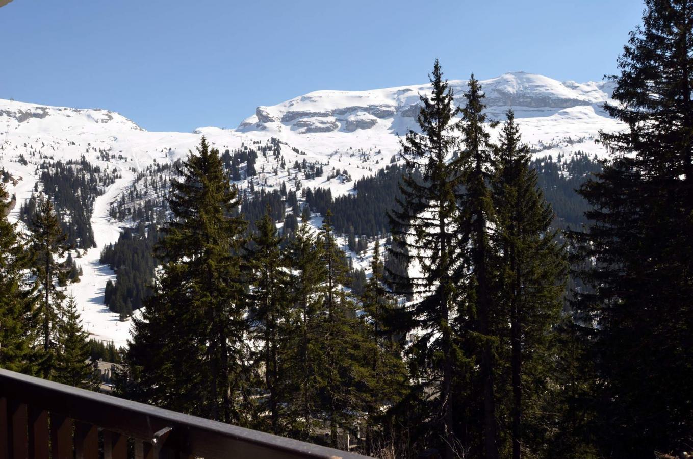 Location au ski Studio 4 personnes (332) - La Residence Castor - Flaine - Extérieur hiver