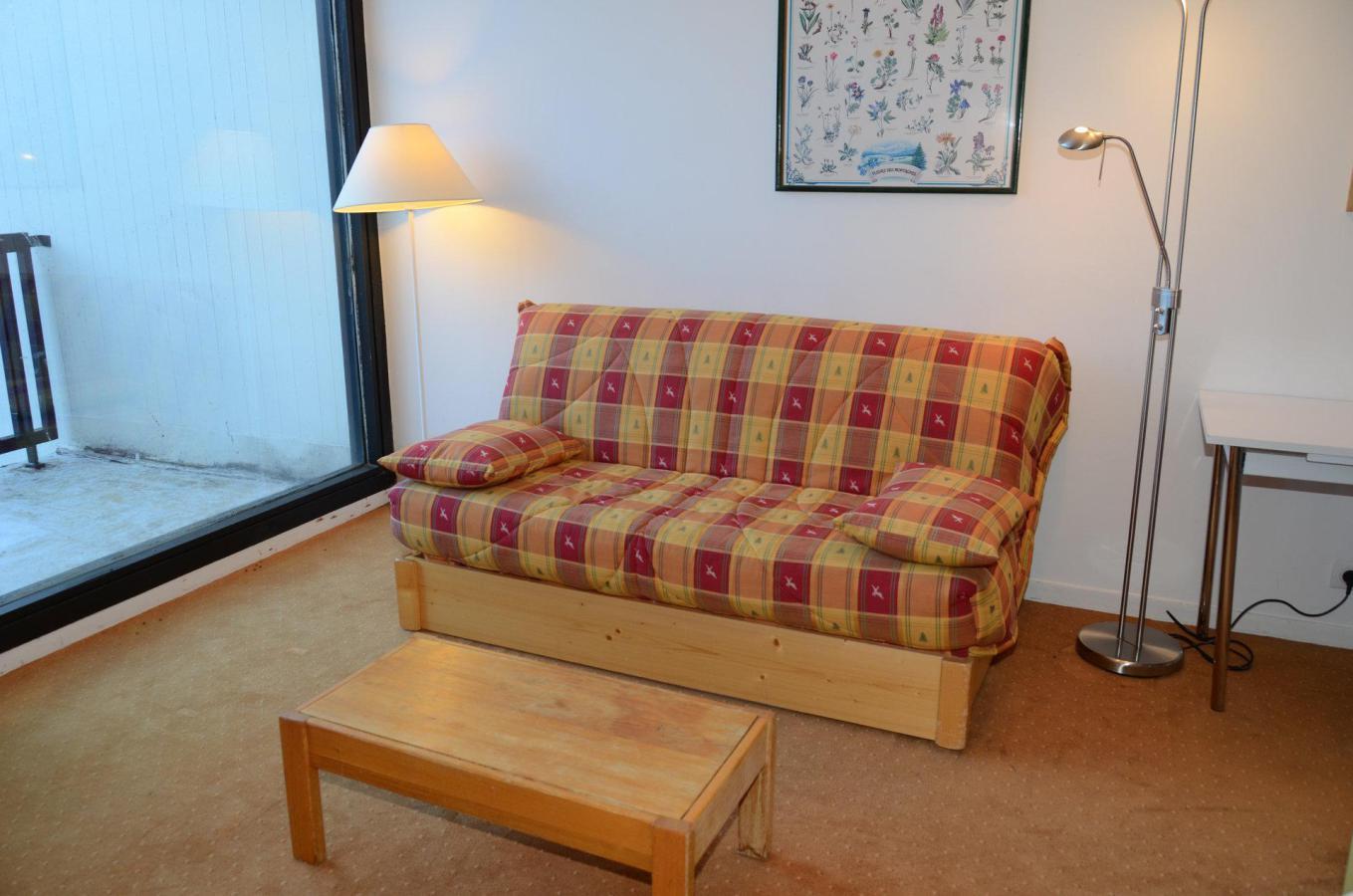 Location au ski Appartement 2 pièces 6 personnes (A2) - Residence Balance - Flaine - Banquette