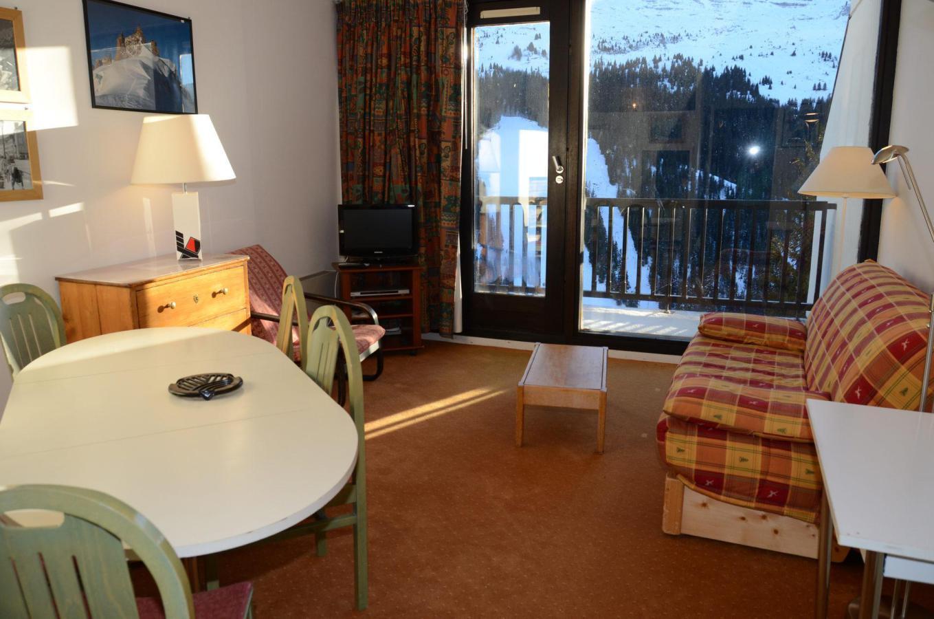 Location au ski Appartement 2 pièces 6 personnes (A2) - Residence Balance - Flaine - Coin repas